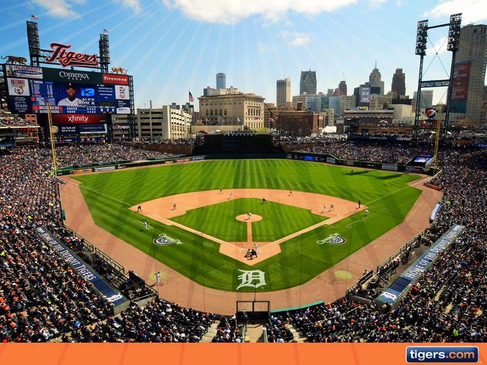 detroit tigers opening